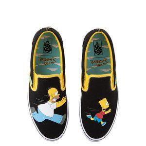 AUTHENTIC VANS x The Simpsons Slip On Homer Bart